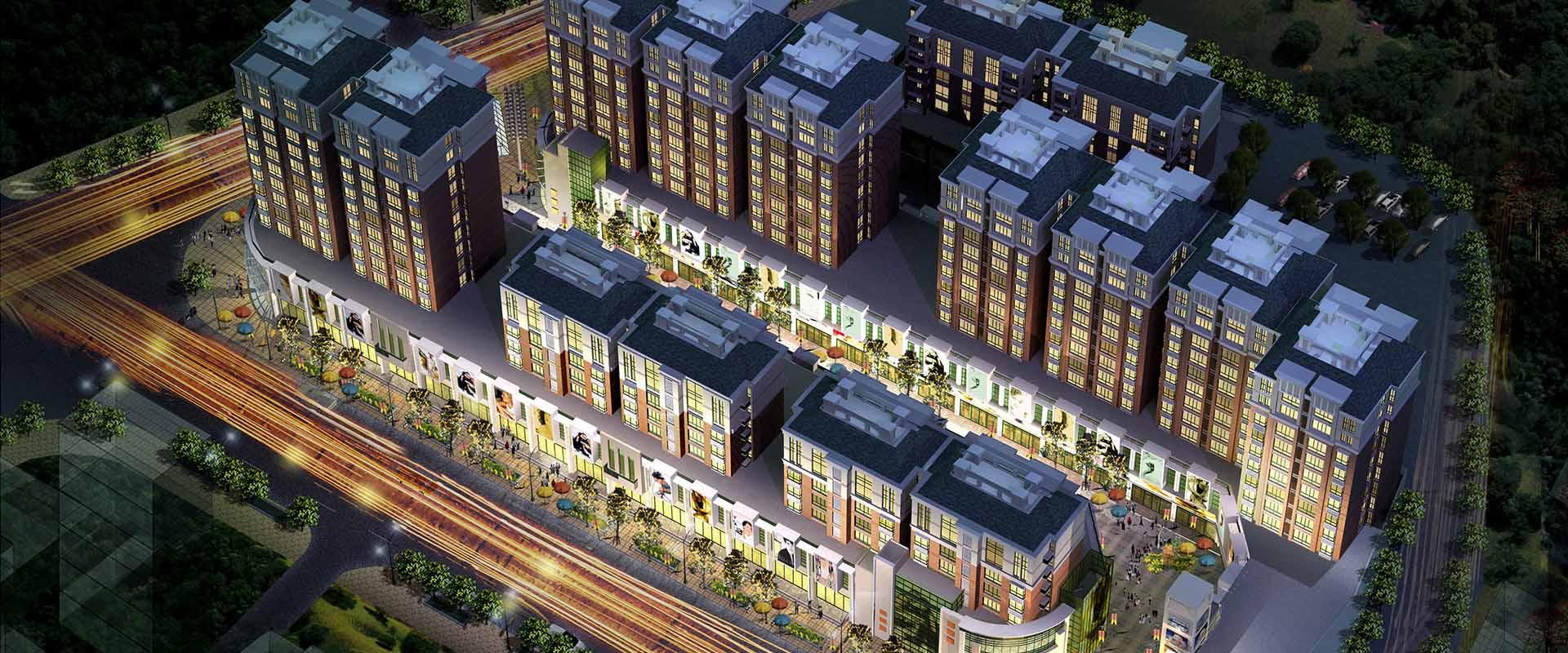 China印象位于景德镇市中心戴家弄绝版地块,周边配套完善,雄踞沃尔玛,浙江路等繁华商业中心,China印象总占地面积13854,总建筑面积3.8万,CHINA印象共7栋,由6栋住宅及一个现代化的集贸市场组成。其中包括5栋造型现代、时尚的小高层及1栋绝版的多层住宅。建筑采用框架结构,其安全性、稳定性远远大于一般多层住宅,项目主要是以住宅、商铺为主,在中心区域设置了一条500米风情商业步行街,随着建设的逐步完善,完全可以起到连接沃尔玛与浙江路的功能,China印象目前在销售的为3#、6#楼,户 型设计